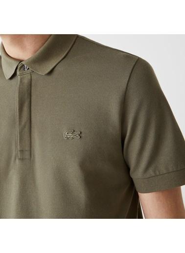 Lacoste Erkek Regular Fit Tişört PH5522 Yeşil